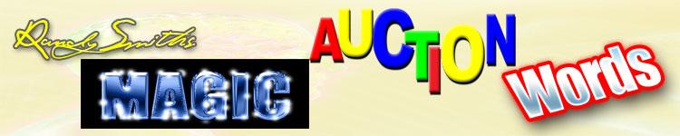 Magic Auction Words